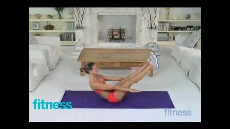 Deep Core Strengthening Exercise - V-Sit   Fitness