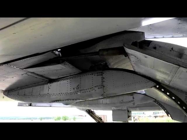 Работа механизации Ту-154Б-1
