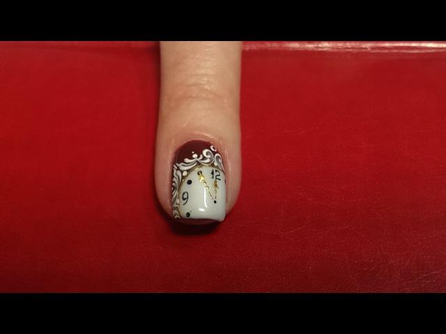 ЖЕНСКИЕ СЕКРЕТЫ - Легкий дизайн ногтей к новому году.