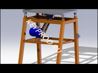 Вибростол для производства плитки своими руками.Vibrating table for paving slabs