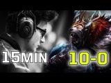LIQUID vs. NP 15min GG   Miracle- 10-0 EPIC Ursa Dota 2