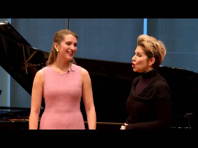 "Joyce DiDonato Master Class 2015: Rossini's ""Nacqui all'affanno"" from La Cenerentola"