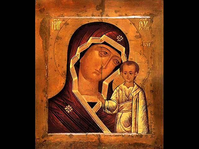 Хор сестер Свято-Троицкого Серафимо-Дивеевского монастыря - Святый Боже...