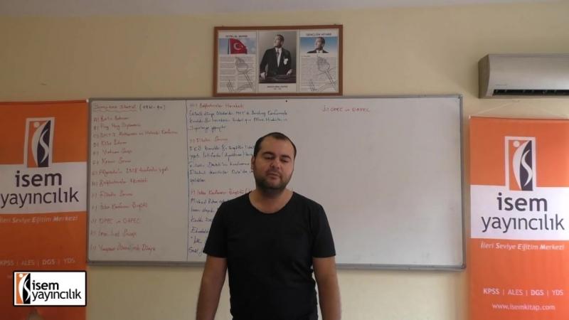 74) Çağdaş Türk ve Dünya Tarihi - (Yumuşama Dönemi ) ( II ) - RY2016