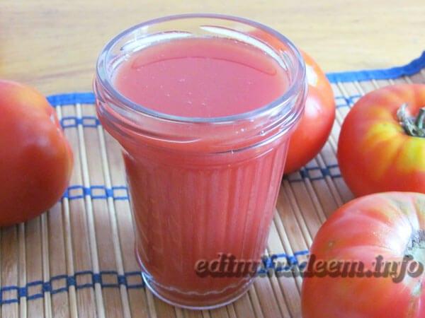 Простой рецепт томатного сока в домашних условиях - Как приготовить