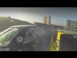 Drift Vine   jzx100 Daigo Saito vs s15 Гоча Чивчян Odaiba Crash
