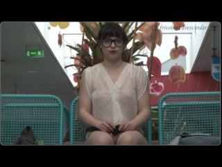 Frivolous dress order - the big glasses