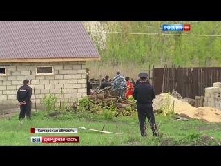 Убийца семьи полицейского Гошта дал показания на месте преступления