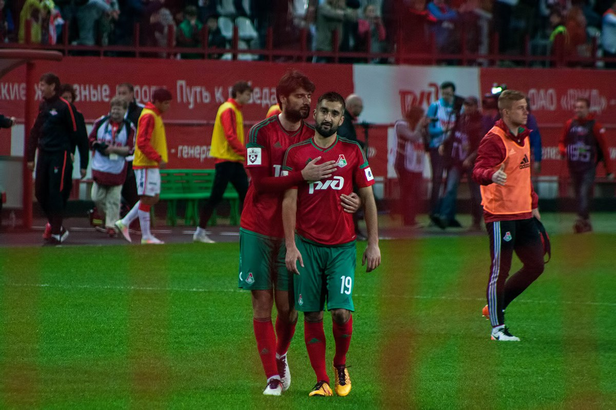 Чорлука и Самедов Фото: Дмитрий Бурдонов / Loko.News
