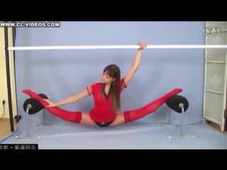 Sexy Brazilian Flexible Girl _ Amazing Stretching _ 2015