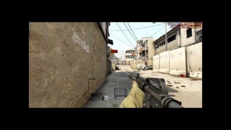 CSGO - Fr1zZ - Insane 4 kills [Highlight]
