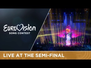 ZOË - Loin D'ici (Austria) Live at Semi - Final 1 of the 2016 Eurovision Song Contest