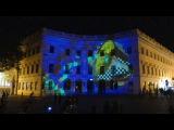 Световое шоу у Дюка, в рамках Odessa Light Fest