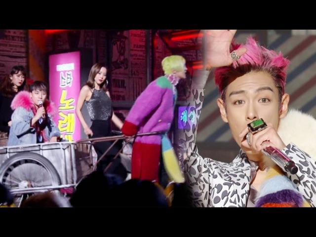 《Comeback Special》 BIGBANG FXXK IT 에라 모르겠다 @인기가요 Inkigayo 20161218