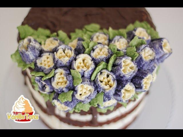 Anleitung Tulpen mit Nozzles 6 Petal Tulip aus stabiler Sahne / Sahnestand von SweetKitchen