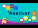 Kids vocabulary Weather How's the weather Learn English for kids English educational video