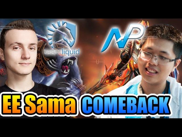 Miracle- Dota 2 - Liquid vs NP - IMPRESSIVE COMEBACK EE Sama