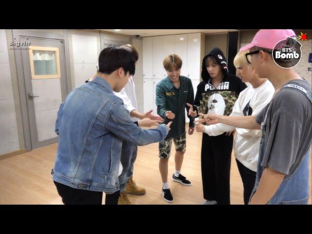 [BANGTAN BOMB] '뱁새' Dance Practice (흥 ver.) - BTS (방탄소년단)