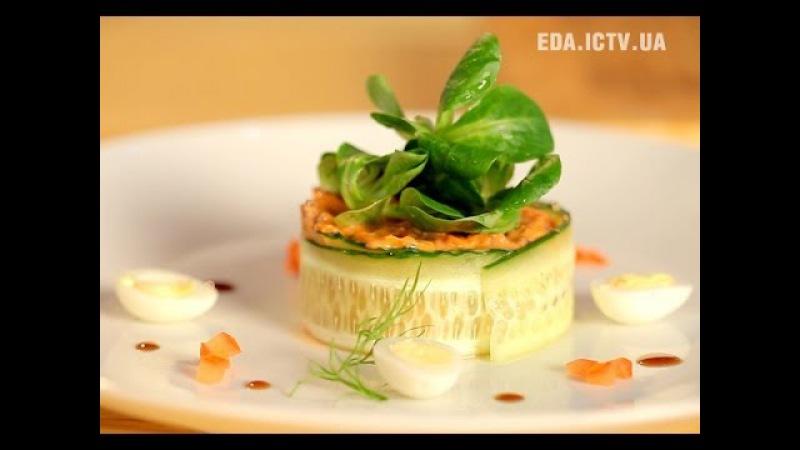 Как приготовить деревенский салат Рецепт - Основной инстинкт, выпуск 17