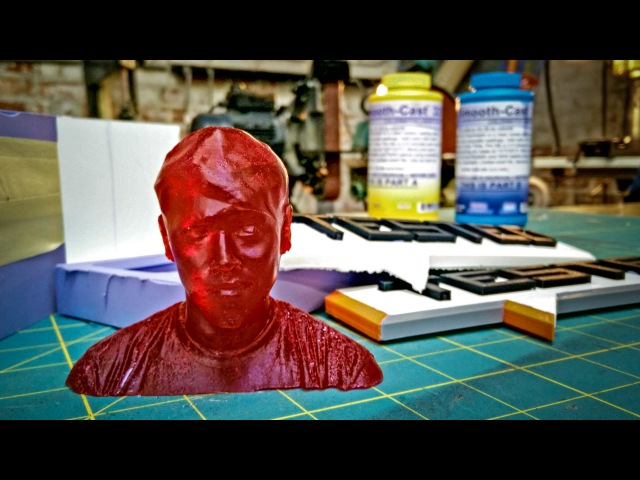 How To Make Resin Copies of 3D Printed Figures