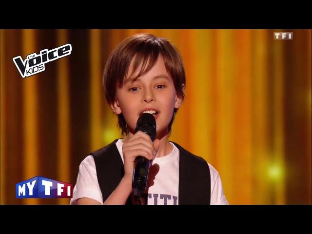 The Voice Kids 2016 | Nans – Je veux (Zaz) | Blind Audition