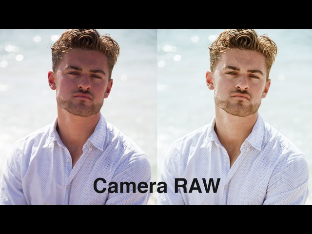 Простая коррекция сложного цвета лица в Camera Raw (Lightroom)