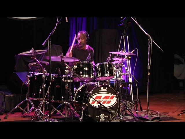Brian Frasier Moore Drum Clinic at Musicians Institute 10/26/2016