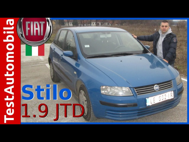 FIAT Stilo 1 9 JTD 85 kw Test Polovnog Automobila
