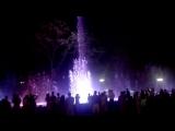 Музыкальный фонтан на Красной