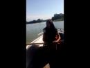 училась управлять лодкой