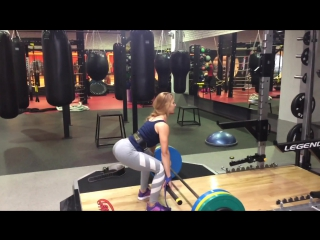 Становая тяга: техника выполнения