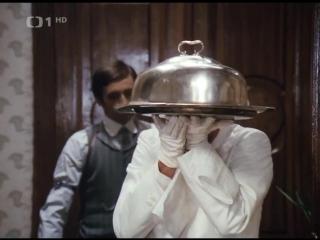 Адела еще не ужинала (Чехословакия, 1977) комедия, пародия на детектив, советская кинотеатральная озвучка (А. Золотницкий)