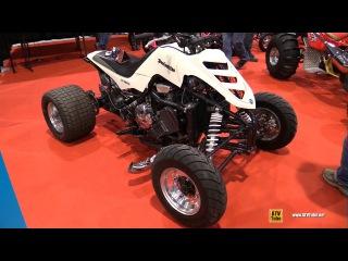 Yamaha Drag ATV Vehicle by Drag VTT Quebec  Walkaround - 2015 St Hyacinthe ATV Show