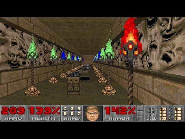 Final Doom TNT Evilution - Nightmare! difficulty in 12336