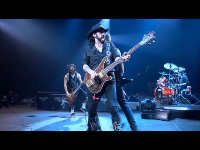 Metallica Frontman Motorhead Lemmy Kilmister - Damage Case; Too Late Too Late (Live In Nashville, Tennessee 14.09.2009)