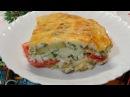 Овощная запеканка из баклажанов кабачков и помидор с сыром