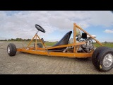 Making a Motorised Go Cart with NO WELDER and simple tools 2 Finish/Test