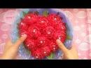 Tổng hợp các cách bó hoa - hình trái tim - bằng giấy báo, nilon, hoa cưới