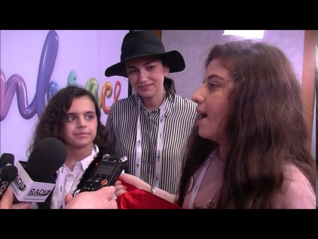 JESC 2016: Interview with Anahit and Mary (Armenia 2016)