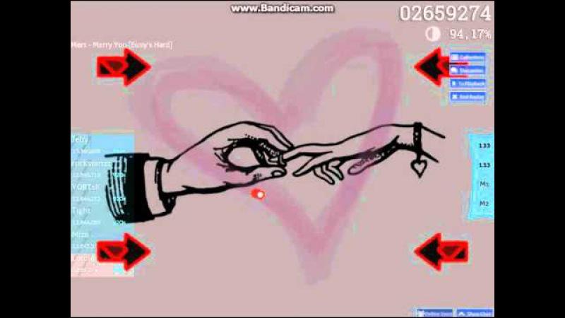 Osu! Bruno Mars - Marry You(Euny's hard)
