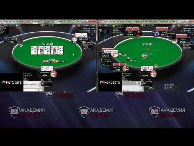 Дмитрий HammerHead играет на двух финалках MTSNG (Покер ВОДы)