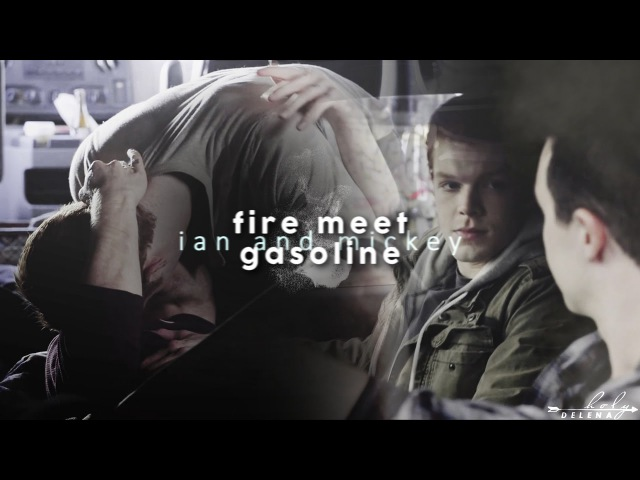 Ian Mickey   fire meet gasoline [7x10]