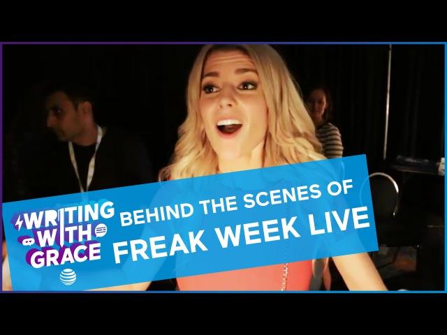Behind The Scenes of My Freak Week Live Read / WWG EP 10 Grace Helbig