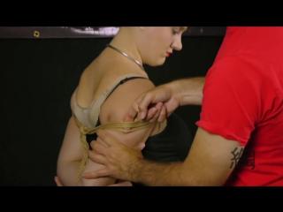 07 Japanese Rope Bondage Shibari - Takate Kote