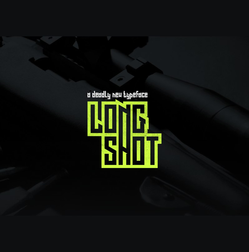 Long Shot шрифт скачать бесплатно