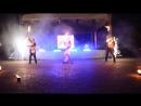 Fireshow от огнедышащей команды клуба из Могилева Дыхание огня. Фестиваль молодежи Разам. УВД.
