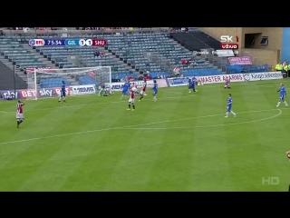 Первая Английская Лига 2016-17 / 6 тур / Гиллингем - Шеффилд Юнайтед / 2 тайм