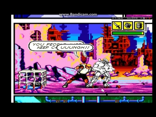 COMIX ZONE [ PS2-Sega Genesis Collection 28 in 1...2006 ] pcsx2 1.4.0...HD-720