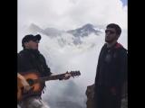 Бардовские песни в горах Чечни.