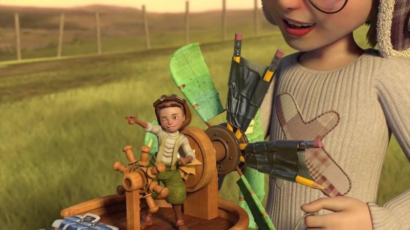 ВЗЛЕТЕТЬ - короткометражный мультфильм для семьи 2015 HD